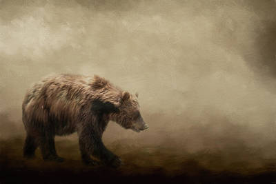 Photograph - To The Ends Of The Earth Bear Art by Jai Johnson