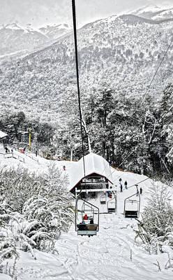 Photograph - To The Land Of Frozen Dreams by Eduardo Jose Accorinti