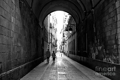 Photograph - To The Light In Barcelona by John Rizzuto