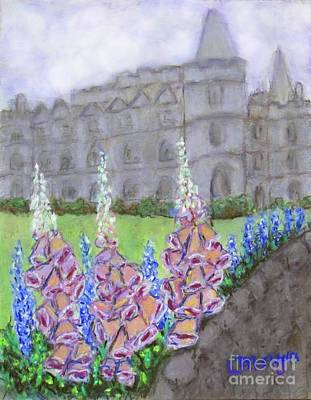 Painting - To The Manor Born by Laurie Morgan