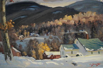 Painting - To The North by Len Stomski