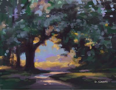 Digital Art - To The River by Donna Shortt
