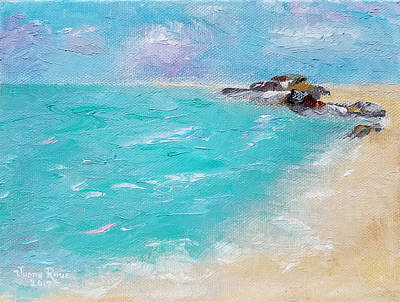 Painting - To The Rocks by Judith Rhue