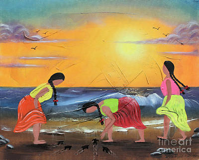 Painting - To The Sea by Sonia Flores Ruiz