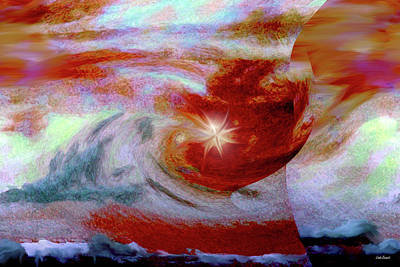 To The Stars Art Print by Linda Sannuti