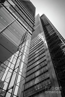 Photograph - To The Top   -27870-bw by John Bald