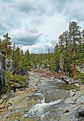 To The Top Of Yosemite Art Print