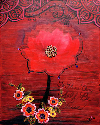 Painting - To Thine Own Self Be True by Eleanor Hofer