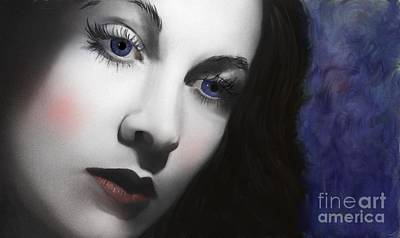 Digital Art - To Vivian Leigh by Sydne Archambault
