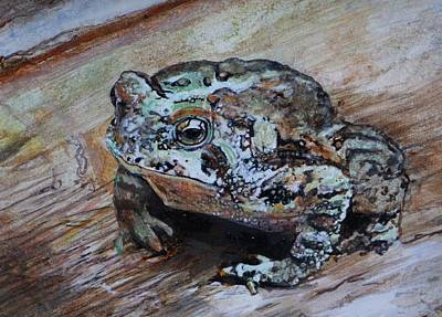 Egg Tempera Painting - Toad Prince by Susie Gordon