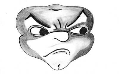 Drawing - Toadman Mcshady by Matt Harang