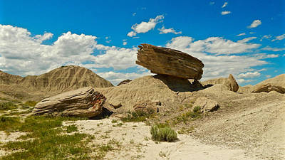 Photograph - Toadstool Geologic Park by Dan Miller