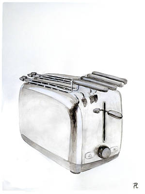 Toaster Painting - Toaster by Renzo