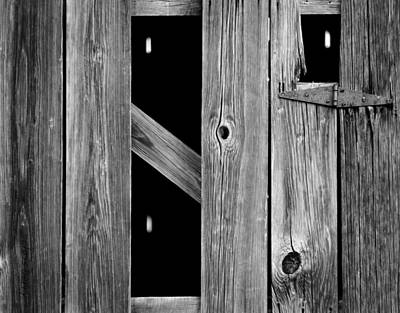 Photograph - Tobacco Barn Wood Detail by Chris Berry
