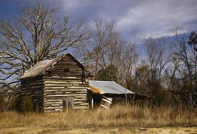 Rural Decay Photograph - Tobacco Road by Benanne Stiens