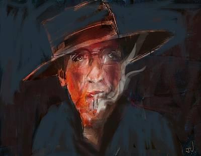 Digital Art - Tobaco Break by Jim Vance