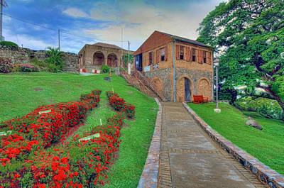 Photograph - Tobago Fort by Nadia Sanowar