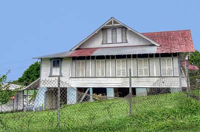 Photograph - Tobago House by Nadia Sanowar