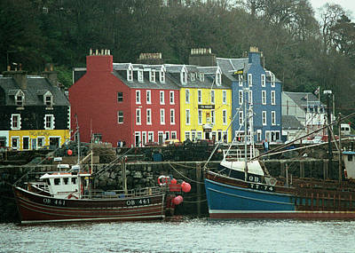 Photograph - Tobermory I by Kenneth Campbell