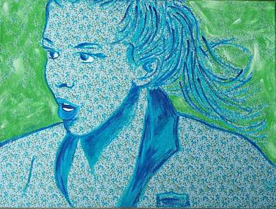 Women Soccer Painting - Tobin Heath, Uswnt by Jill Wells