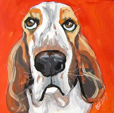 Toby Art Print by Barbara O'Toole