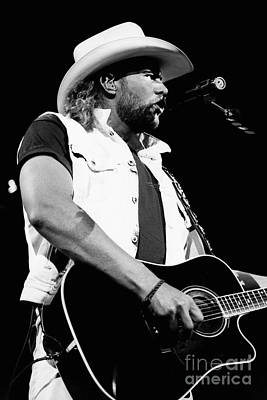 Toby Keith 95-1552 Art Print by Gary Gingrich Galleries