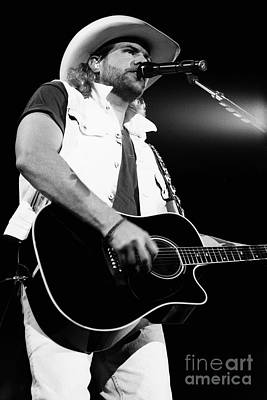 Toby Keith 95-1553 Art Print by Gary Gingrich Galleries
