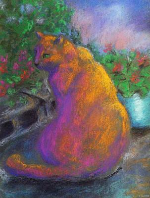 Pastel - Toby's Garden Path by Brenda Salamone