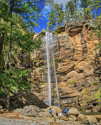 Photograph - Toccoa Falls by Jane Luxton