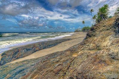 Photograph - Toco Coastline by Nadia Sanowar