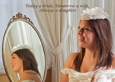 Photograph - Today A Bride by Terri Waters