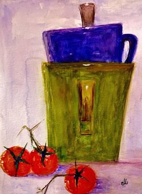 Today.. Art Print by Cristina Mihailescu