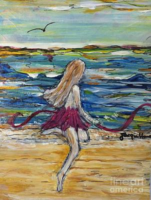 Painting - Today I Dance  by Jacqui Hawk