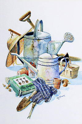 Todays Toil Tomorrows Pleasure I Original by Hanne Lore Koehler