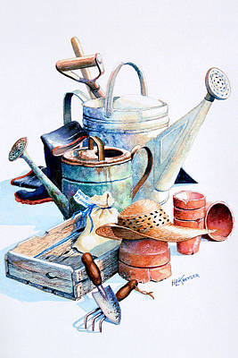 Todays Toil Tomorrows Pleasure II Original by Hanne Lore Koehler
