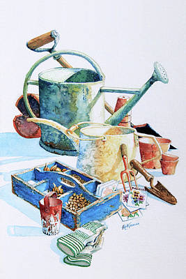 Todays Toil Tomorrows Pleasure IIi Original by Hanne Lore Koehler