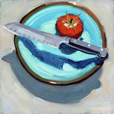Painting - Today's Tomato by Sandra Smith-Dugan