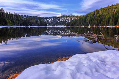 Photograph - Todd Lake by Cat Connor