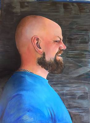 Painting - Todd by Mary C Haneline