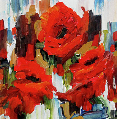 Painting - Together Again by Nancy Day