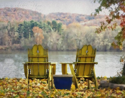 Photograph - Together Autumn by Brenda Conrad