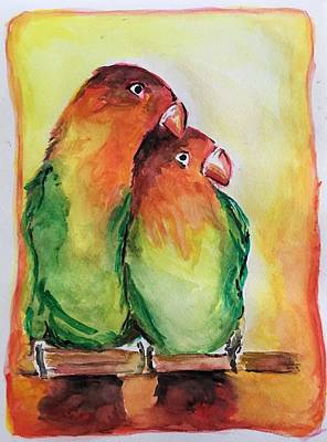 Painting - Together Forever by FayBecca Designs