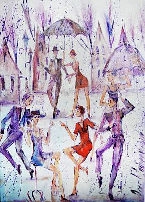 Painting - Together by Oleg Poberezhnyi