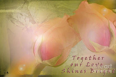 Photograph - Together Our Light Shines by Sandra Clark