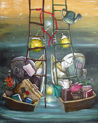 Two Guides Painting - Together by Svetlana Aristova