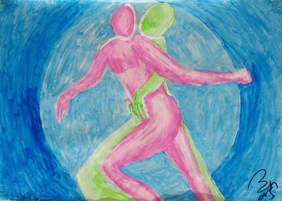 Inner World Painting - Together V by Bachmors Artist