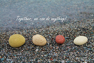 Photograph - Together We Can Do Anything by Nina Silver