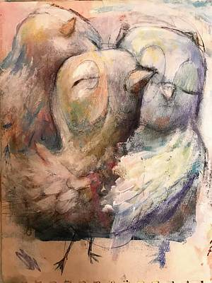 Painting - Togetherness by Eleatta Diver