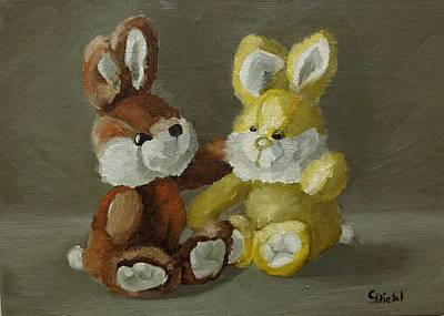 Painting - Togetherness by Grace Diehl