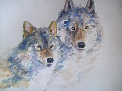 Togetherness Art Print by Susan Ryder